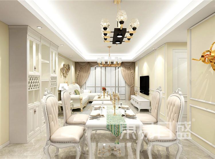 美式风格——客餐厅