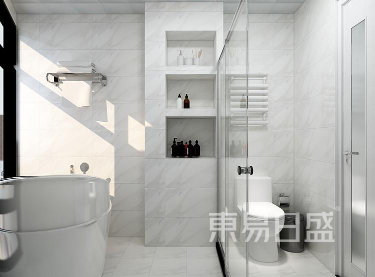 北欧风格卫生间装修设计