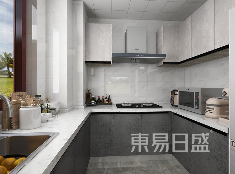 现代轻奢风格厨房装修图