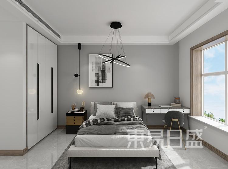 现在轻奢风格卧室装修效果图