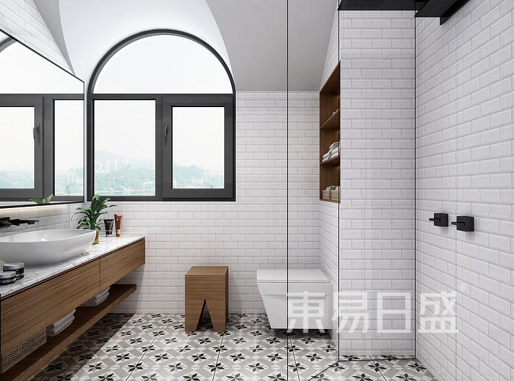 华侨城嘉陵江天-卫生间风格-客厅装修效果图