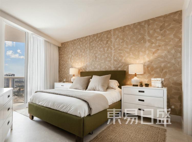 云麓里90平三居室北欧风格设计——卧室