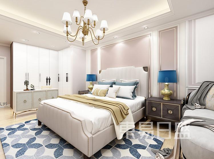 龙湖·九里晴川-现代轻奢-卧室装修效果图