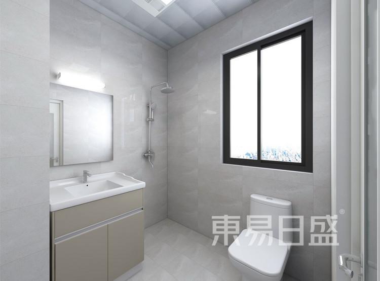 卫生间装修效果图 - 现代轻奢装修效果图 - 西安装修设计公司