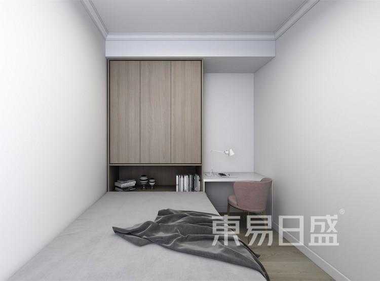 客房装修效果图 - 现代轻奢装修效果图 - 西安装修设计公司