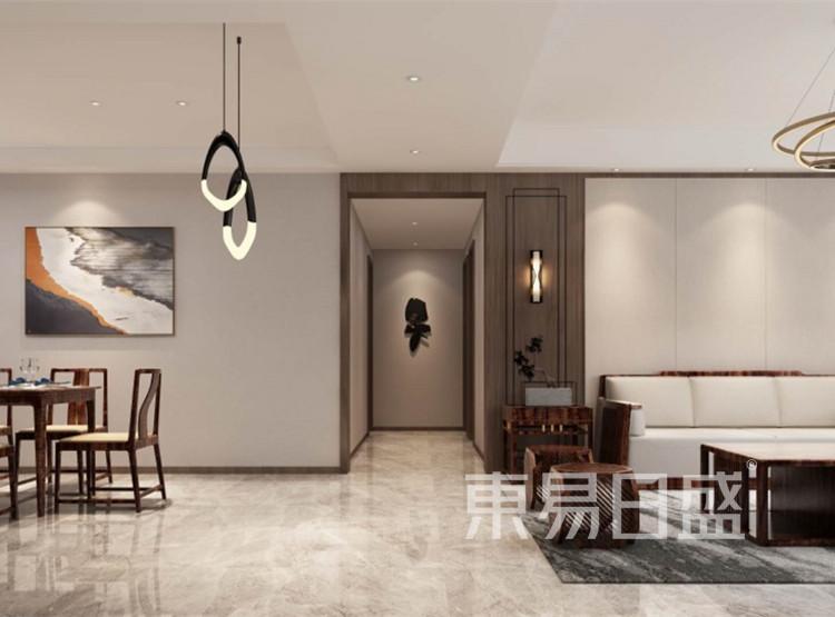 门厅装修效果图 - 新中式风格装修效果图 - 西安装修设计公司