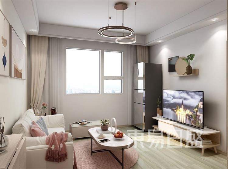 客厅装修效果图 -北欧风格装修效果图 - 西安装修公司