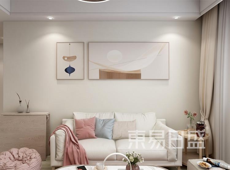 客厅装修效果图2 -北欧风格装修效果图 - 西安装修公司