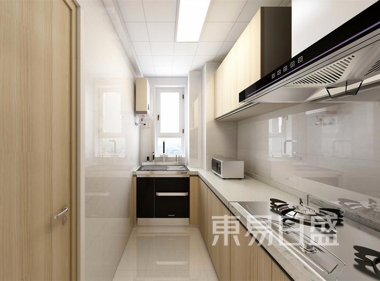 厨房装修效果图 -北欧风格装修效果图 - 西安装修公司