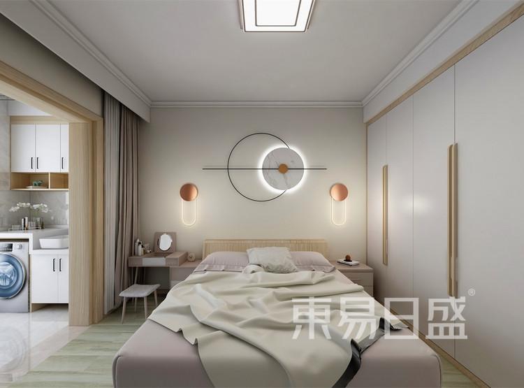 卧室装修效果图 -北欧风格装修效果图 - 西安装修公司。