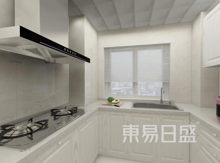 厨房装修效果图 - 新中式风格装修效果图 - 西安室内设计