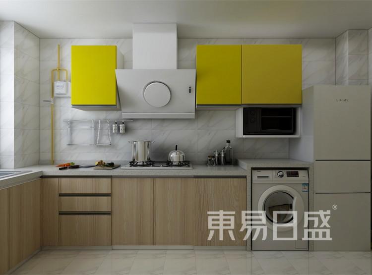 厨房装修效果图 - 北欧风格装修效果图 - 西安两居室装修