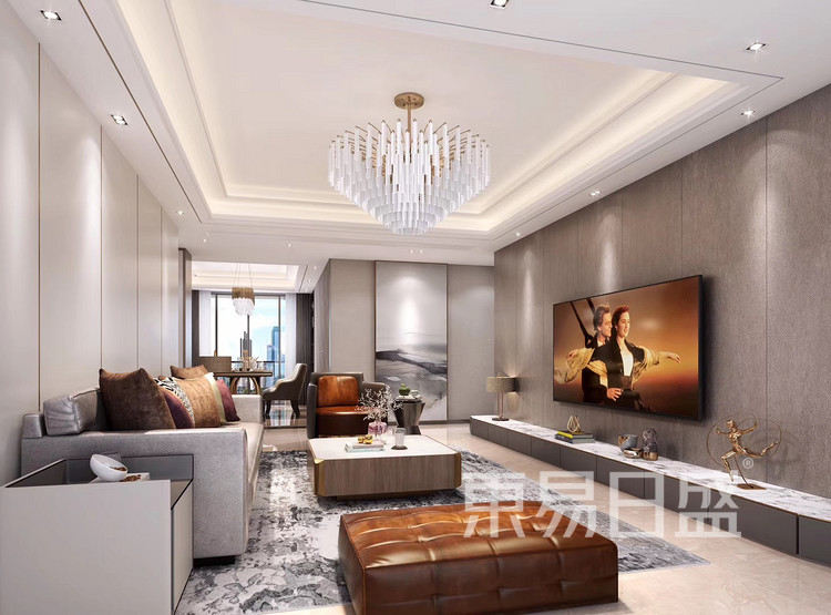 皇御苑90平米速美超级家装修案例