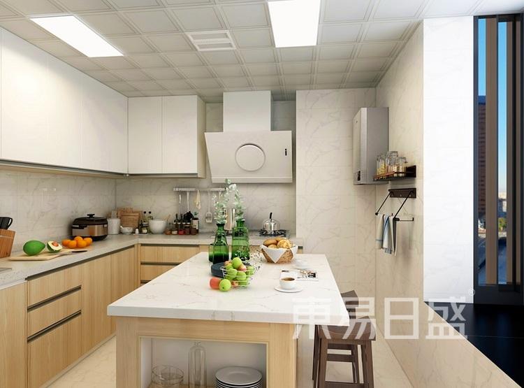 富丽雅花园厨房装修效果图