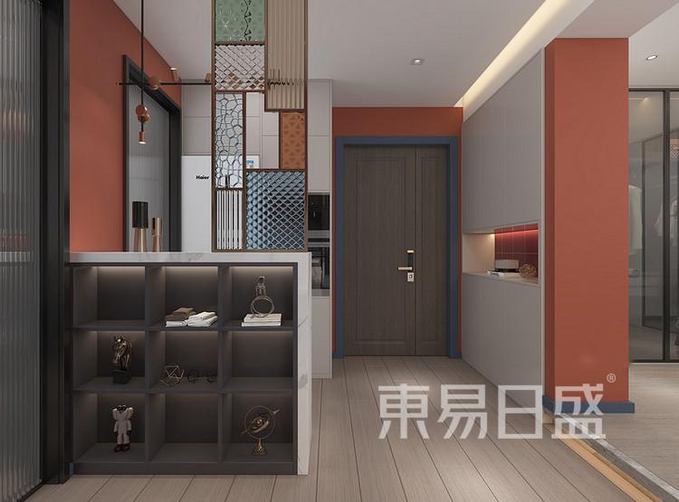 远洋太湖宸章现代简约装修效果图——玄关