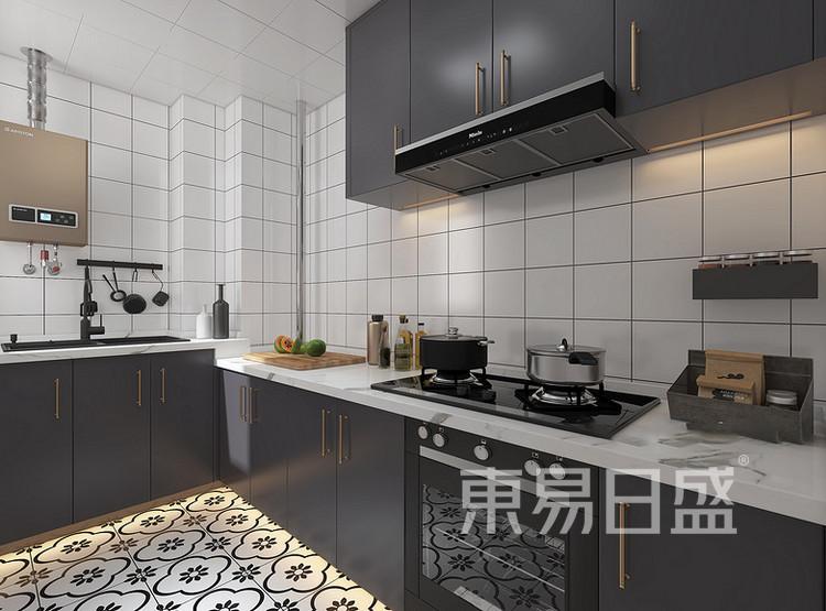 远洋太湖宸章现代简约装修效果图——厨房