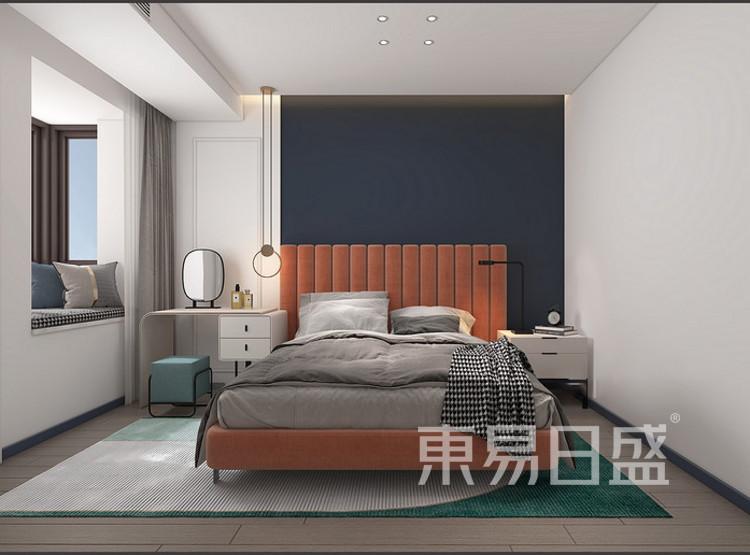 远洋太湖宸章现代简约装修效果图——卧室