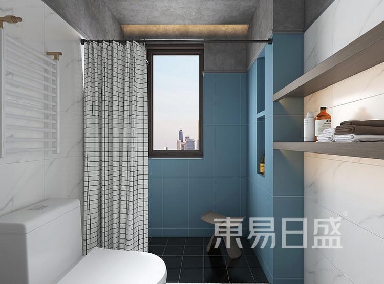远洋太湖宸章现代简约装修效果图——卫生间