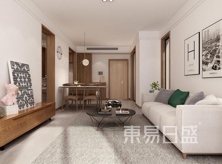 正大万物城北欧风格装修效果图——客厅