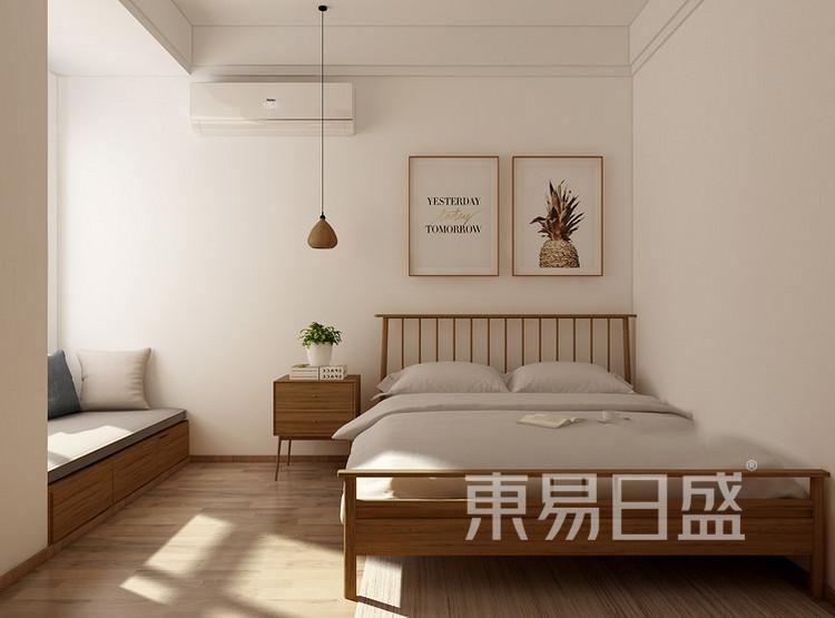 正大万物城北欧风格装修效果图——卧室