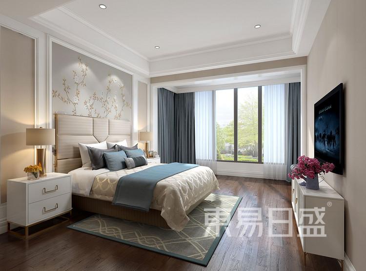 保利香槟国际350平别墅美式风格卫生装修效果图