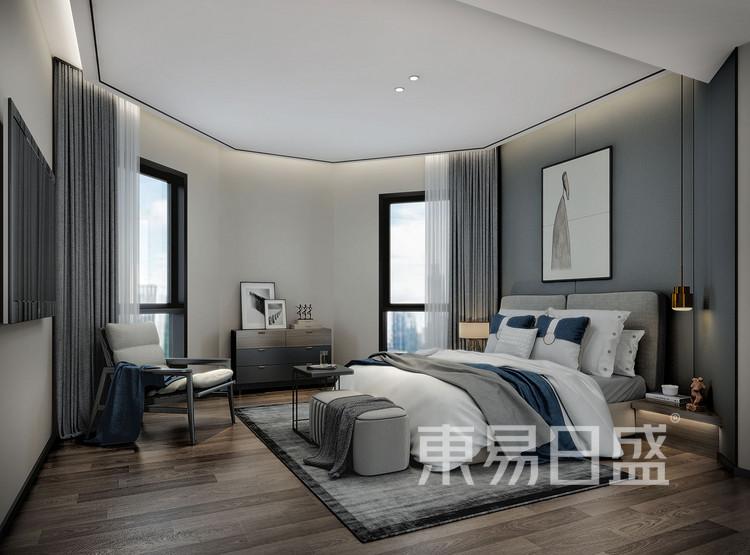 中德英伦联邦150平卧室装修效果图