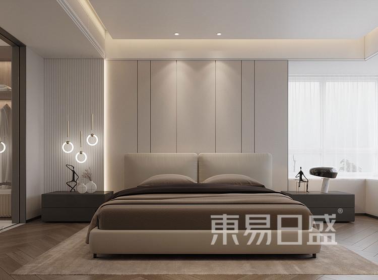 龙湖天宸原著212平卧室装修效果图