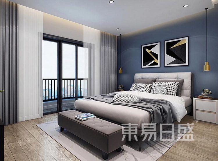 蓝光雍锦阁165平跃层卧室装修效果图