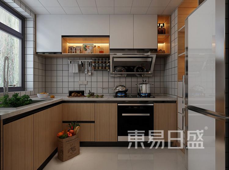 远洋太湖宸张北欧风格装修效果图——厨房