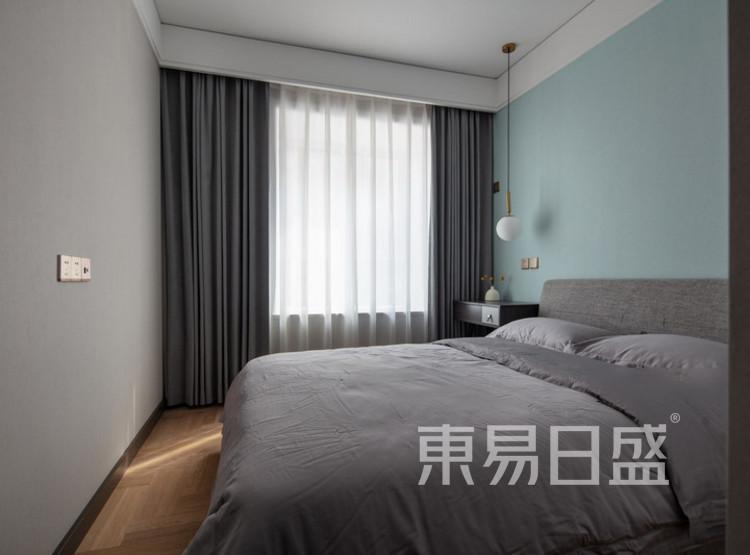 建发玖里湾现代简约装修效果图——卧室