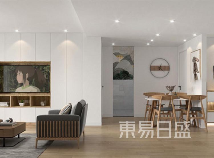 长泰国际北欧风格装修案例图——客厅