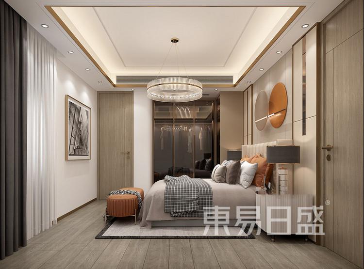 梁溪本源现代简约风格装修效果图——卧室