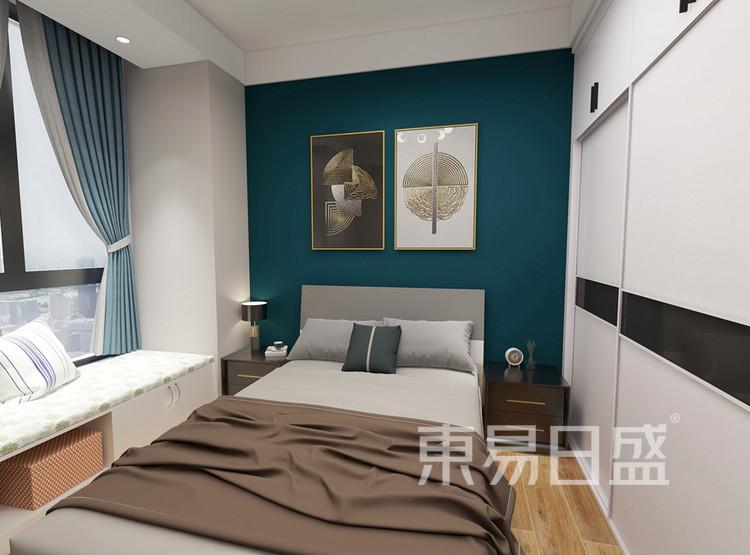 澜桥公馆装修-现代轻奢风格-卧室装修效果图