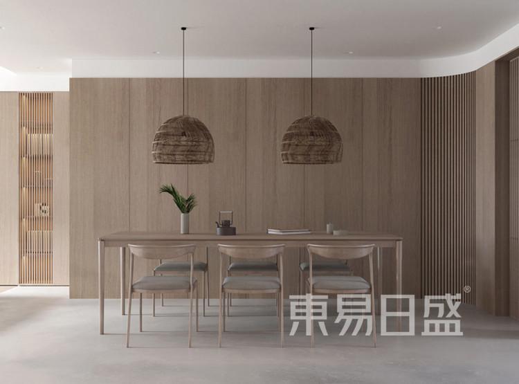 建发玖里湾新中式风格装修效果图——餐厅
