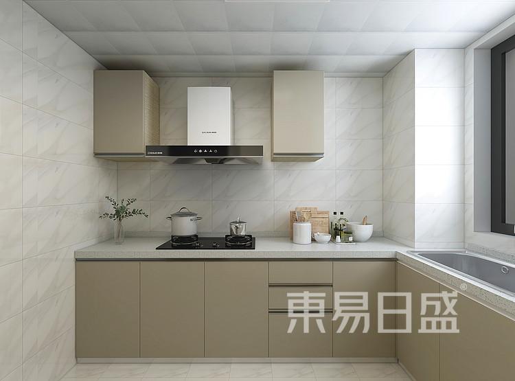 现代轻奢风格厨房装修设计