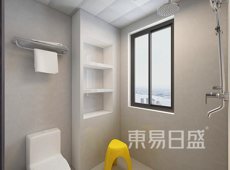 现代轻奢风格卫生间装修设计