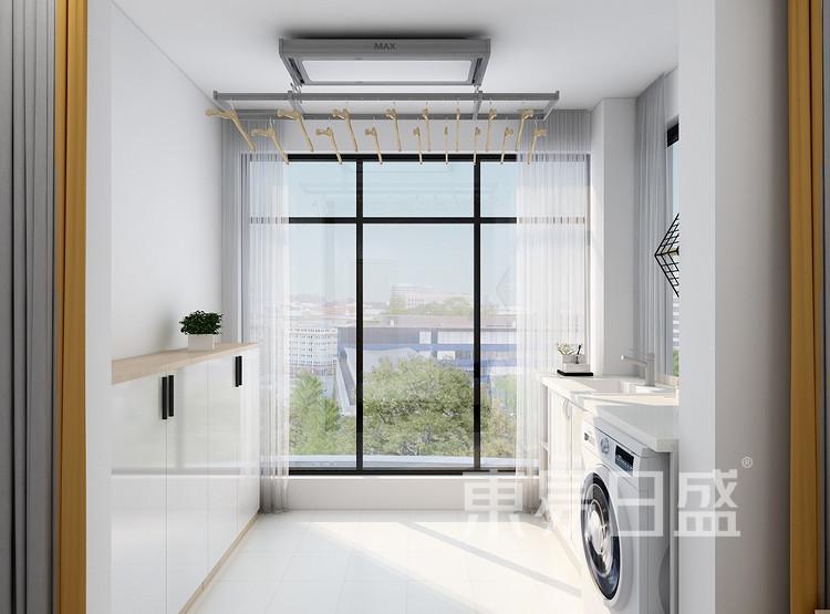 北欧风格洗衣房装修设计