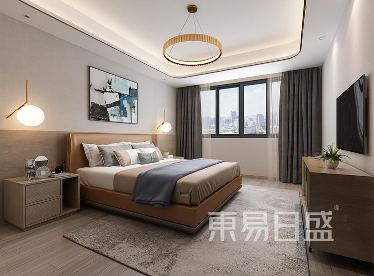龙湖·景粼玖序 现代简约 卧室 装修效果图