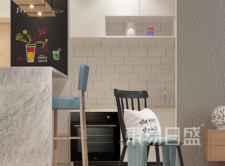君胜熙珑山-现代简约-餐厅效果图
