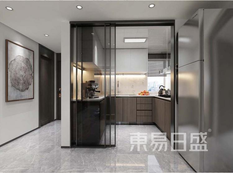 嘉邦小区120平三居室新中式风格装修设计——厨房