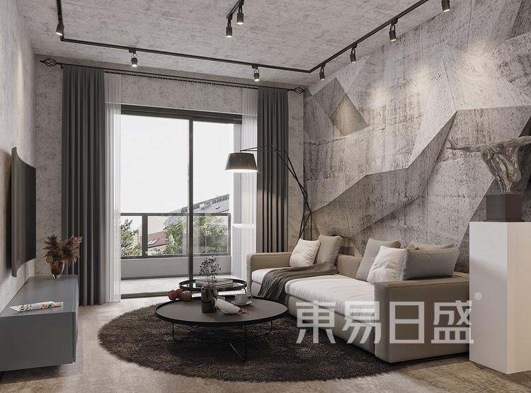 江南之星-工业风-客厅