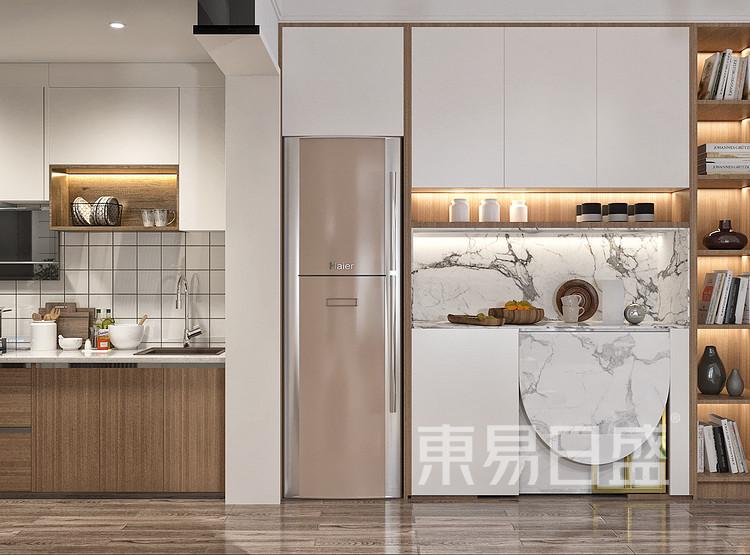 原木风格厨房装修设计