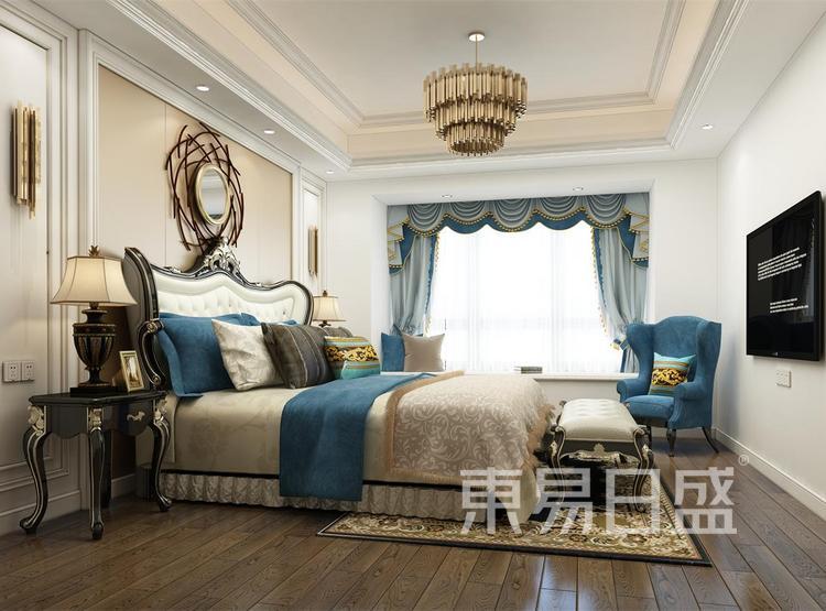 西安卧室装修 - 新古典风格装修效果图 - 西安装修公司