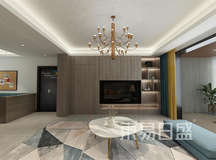 西安客厅装修2 - 现代简约风格客厅 - 西安装修公司
