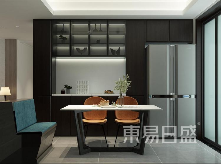 西安餐厅装修 - 现代简约风格餐厅 - 西安装修公司