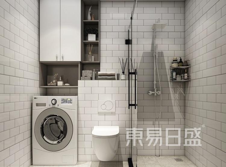 现代简约卫生间装修效果图