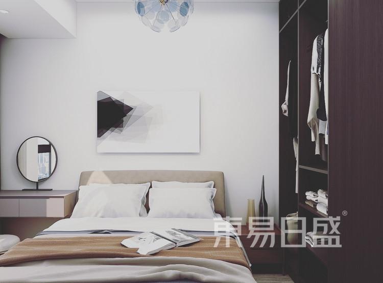 武汉天街90平米现代简约风格装修效果图