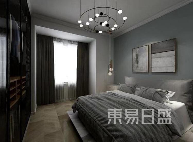 龙湖春江郦城装修案例-现代简约风格-卧室装修效果图