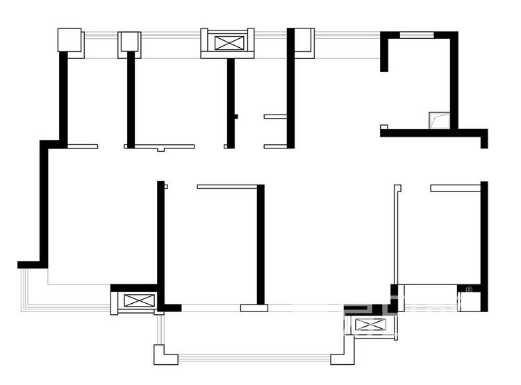 龙湖春江郦城户型图-135平米