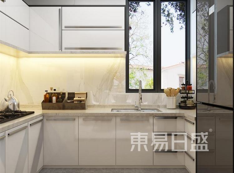 厨房装修效果图 - 西安装修公司